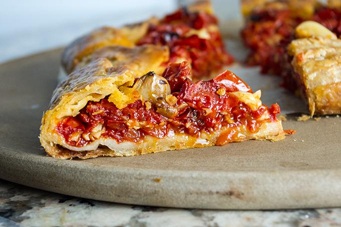 Roasted Tomato Galette Recipe