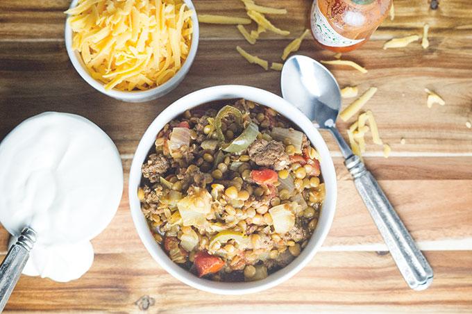 Lentil Chili Recipe