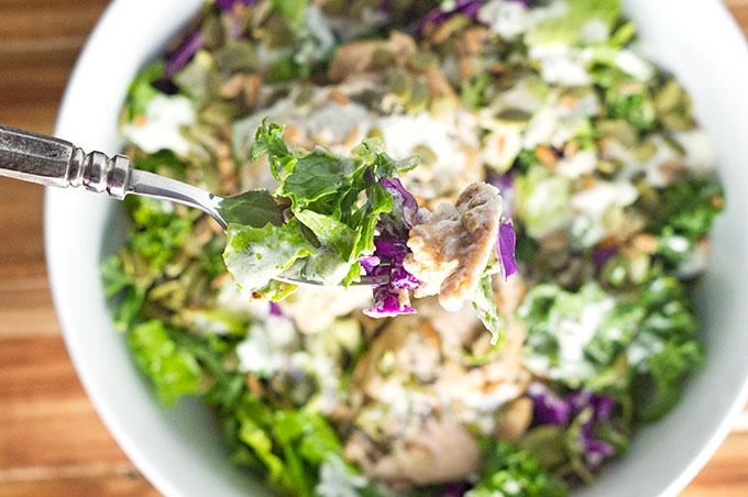 Chicken Chopped Salad Recipe