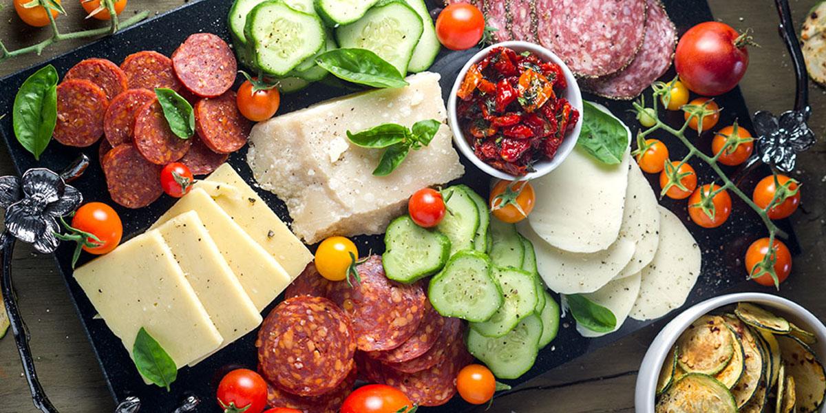 Summer Garden Antipasto Platter