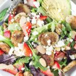Strawberry Chicken Sausage Salad