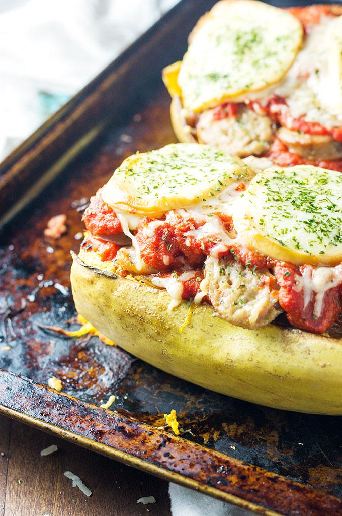 Italian Stuffed Spaghetti Squash
