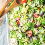 Simple Greek Chicken Salad
