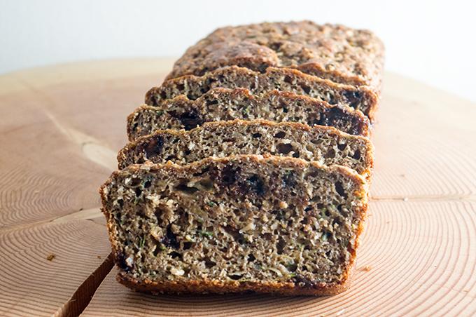 Sliced-zucchini-bread