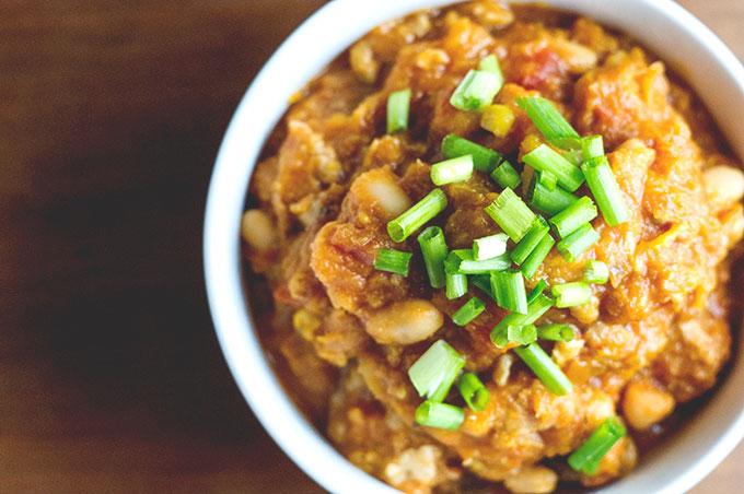Acorn Squash Chili Recipe