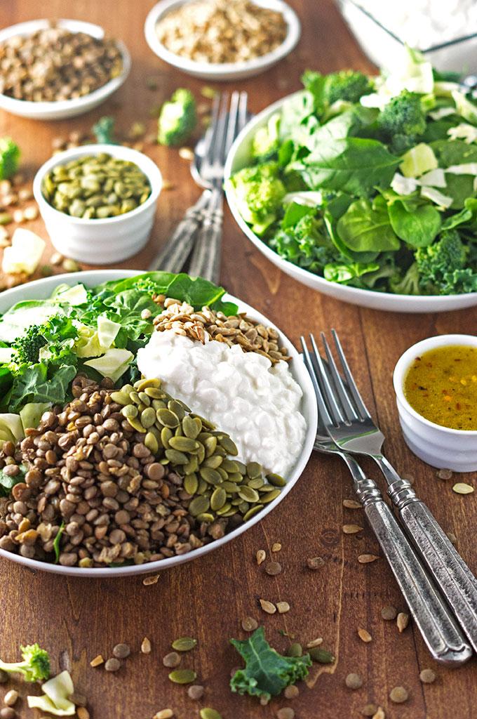 Green Power Protein Salad