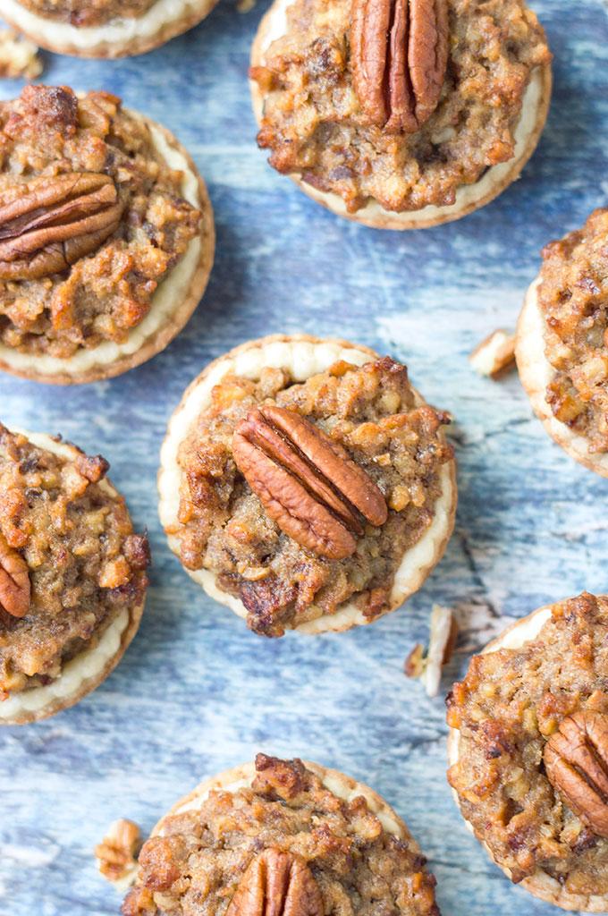 Mini Chocolate Pecan Pies